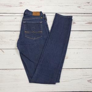 Lucky Brand Sofia Skinny Jeans Size 2 / 26 Resin